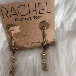 Cute Rachel Roy earrings.